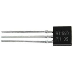 BT169D - Thyristors logic level - 0.8A, 400V TRIAC - NXP semiconductor