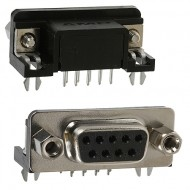 DB9 Female Connector - PCB Mount - 9 Pin