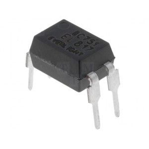PC817/ EL817, 4 Pin DIP Photocoupler / Optocoupler