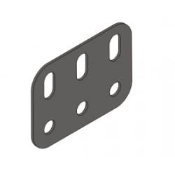 """Flat Metal Girder Girder - 3 Holes 1.5"""" x 1"""""""