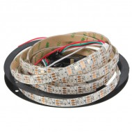 Neopixel WS2812B Addressable RGB LED Strip - 5V - 30/60/144 LEDs / meter - Inbuilt chip  - IP30/ IP65/IP67
